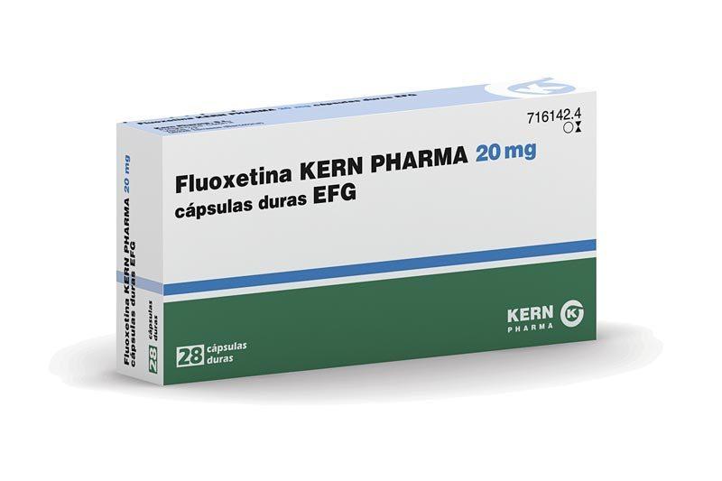 La fluoxetina engorda
