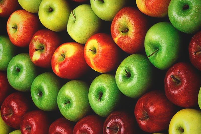 ¿La manzana engorda?